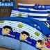 Sprei Motif Messi Handmade