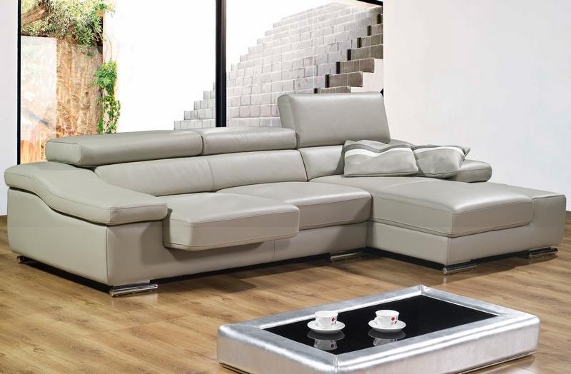 canap d 39 angle en cuir canap fauteuil et divan. Black Bedroom Furniture Sets. Home Design Ideas