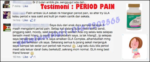 Sengggugut atau period pain