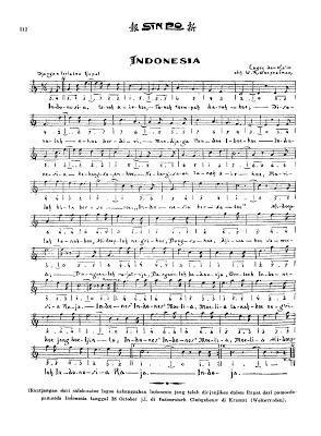 Lirik Lagu Nasional : Indonesia Raya
