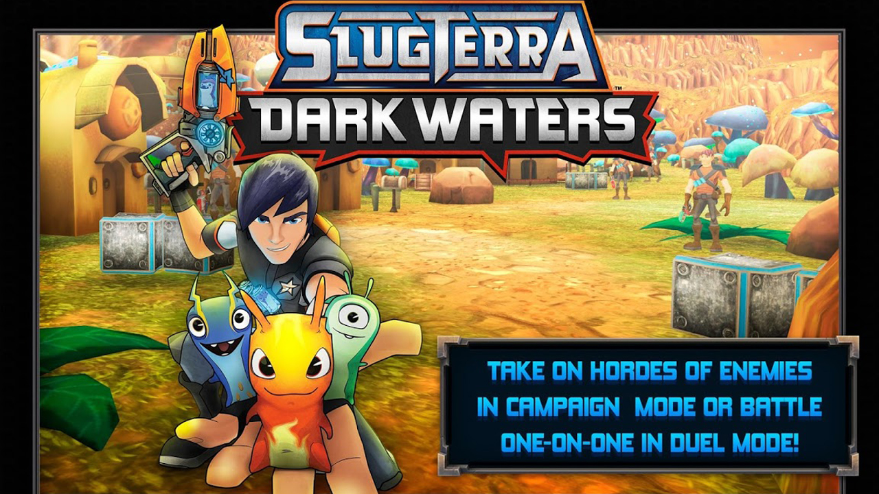 Slugterra: Dark Waters Gameplay IOS / Android