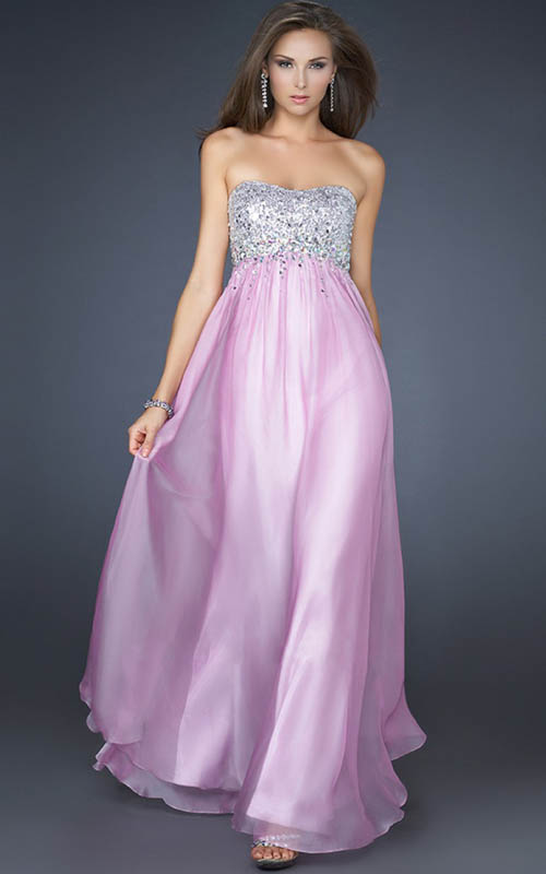 homecoming dazlling prom dresses 2013: Lavender Sequin Top Empire ...