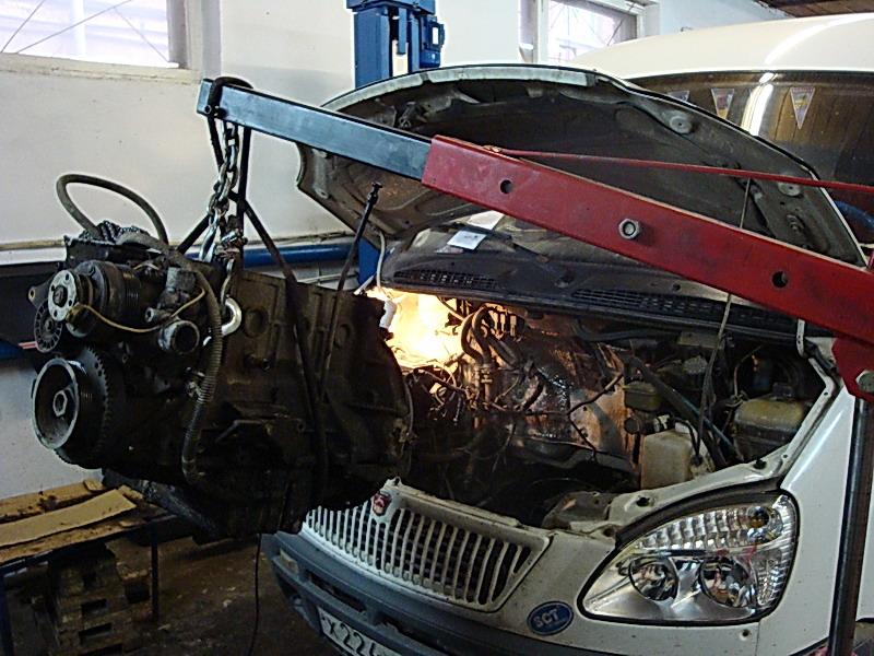 Газель двигатель ремонт фото