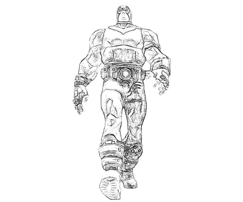 bane from batman coloring pages - photo#25