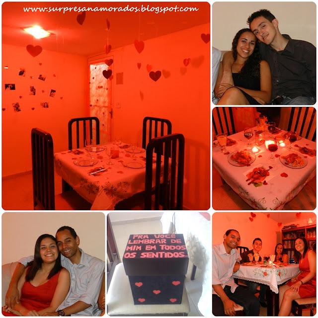 dicas para um jantar romântico com o namorado