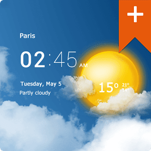 Transparent clock & weather Pro 0.85.12.08 APK