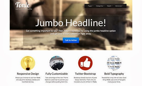 18 Free Responsive Bootstrap Themes And Resources