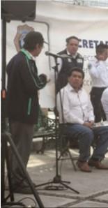 Policías intimidan al periodista Armando Ramírez en Tláhuac