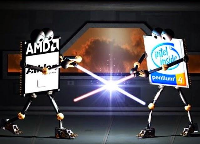 Perbedaan Prosesor Amd dan Intel