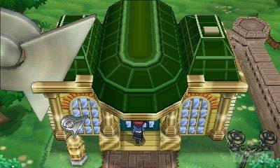 Pokémon X & Y: novos monstrinhos, trailer, imagens, personagens e o primeiro ginásio Santalune_City_Neuvartault_Nouvaria_City_Gym_exterior_screenshot