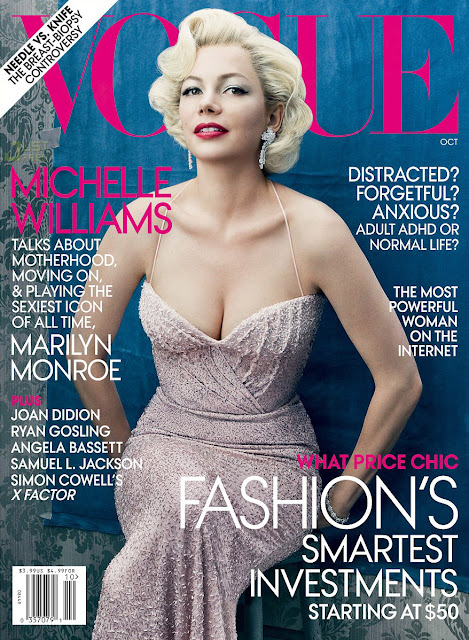 VOGUE: Michelle Williams