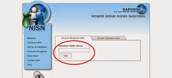 Cara Mudah Cek NISN SD SMP SMA Terbaru