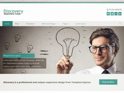 Discovery WordPress Theme