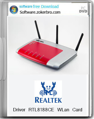 Driver WLan Realtek RTL 8188CE Windows 8