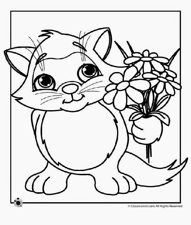 Spring coloring pages free coloring sheet for Free springtime coloring pages