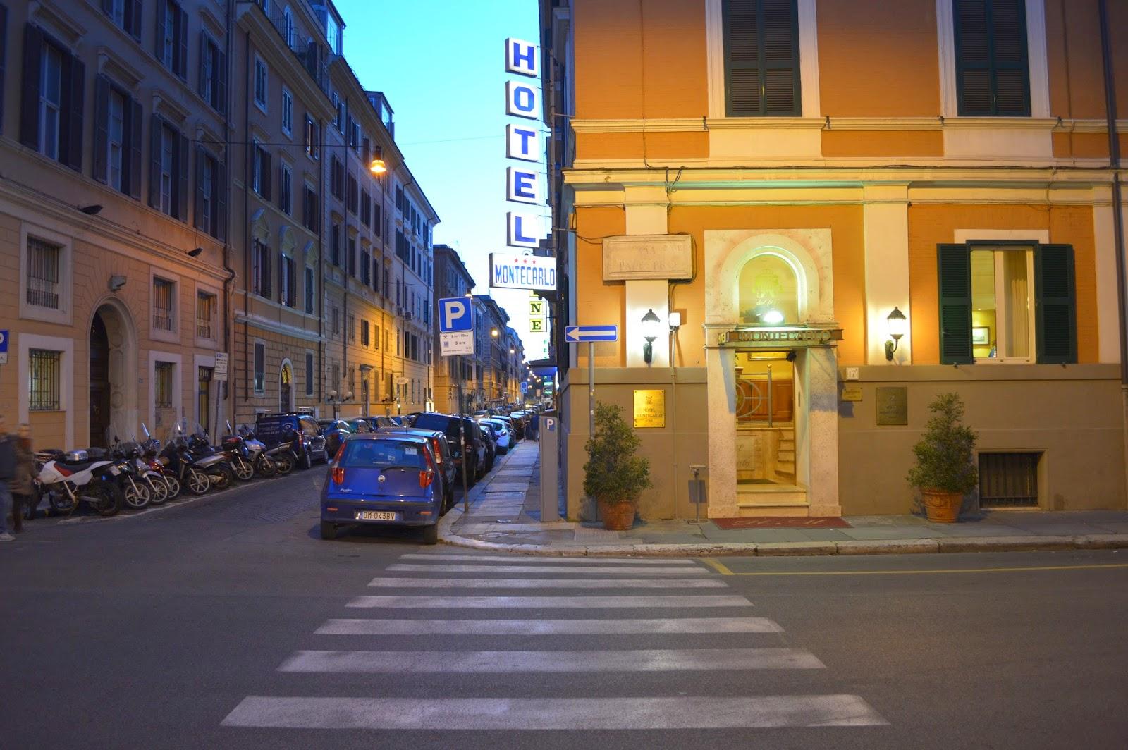 Rome photo walks hotel montecarlo roma for Hotel roma rome