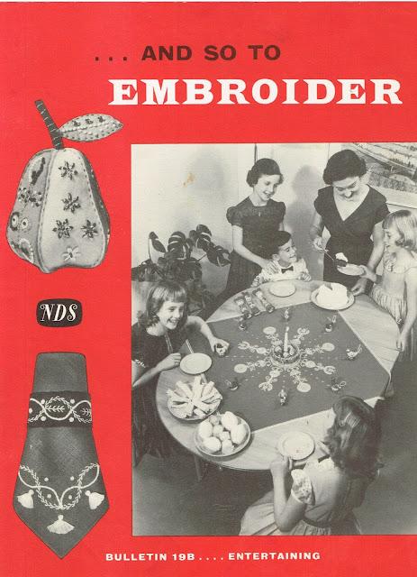 "Needlework Development leaflet ""Bulletin 19B"""