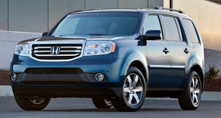 Latest Cars Models: Honda pilot 2014