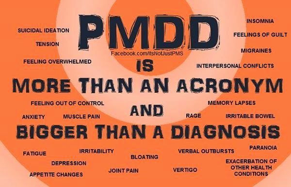 PMDD Severe PMS UK