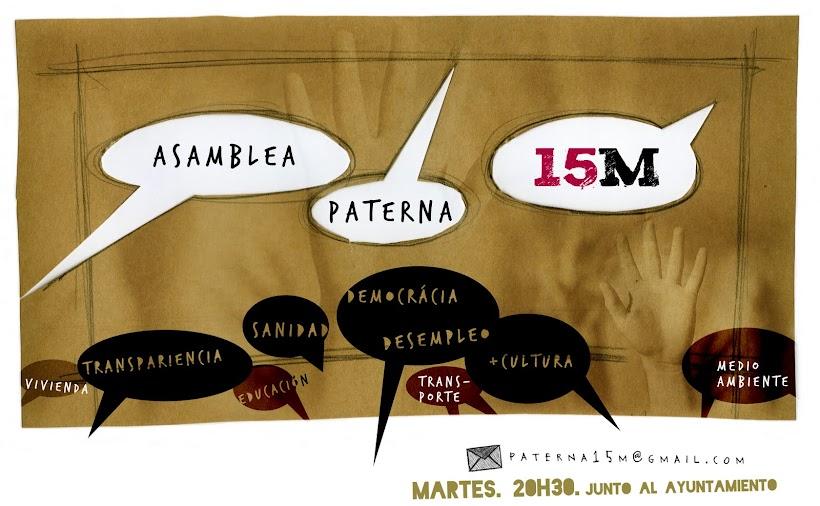 Asamblea Paterna: 15 Mayo