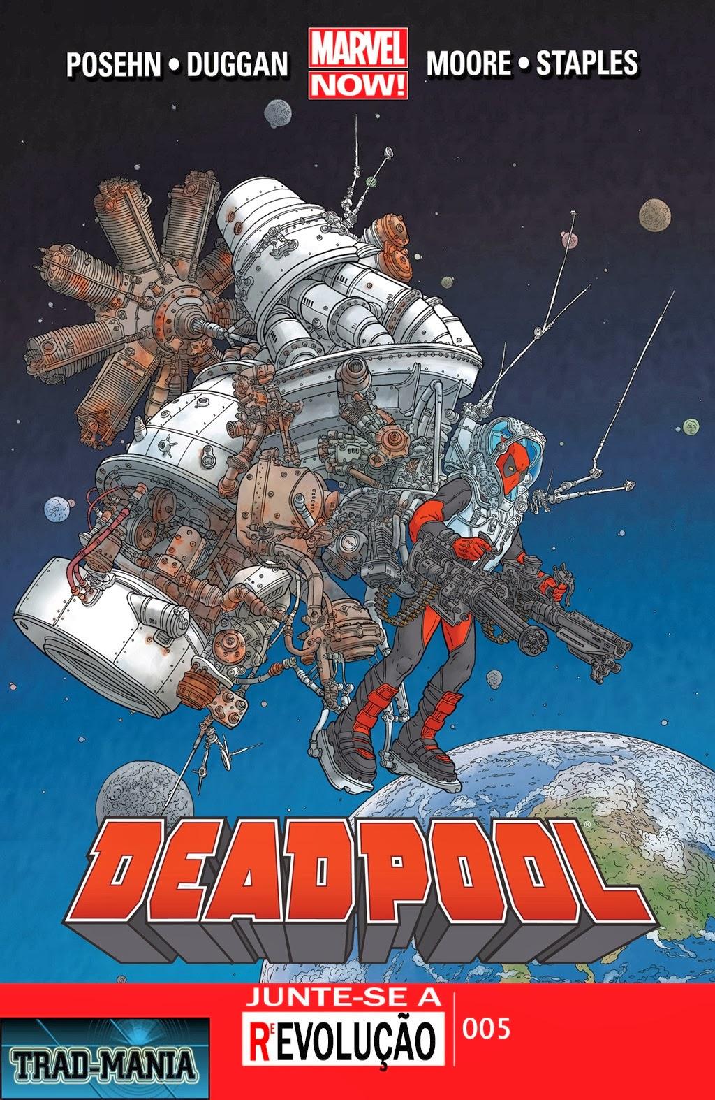 Nova Marvel! Deadpool v5 #5