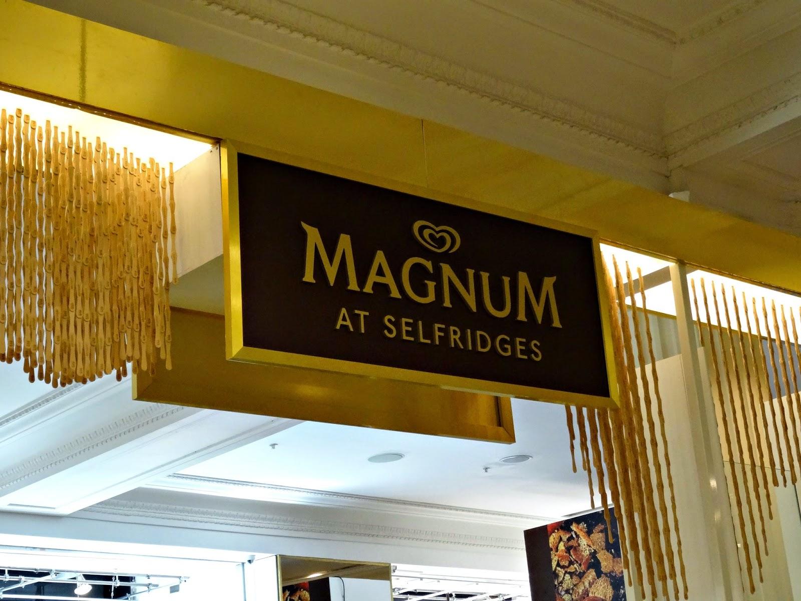 Magnum ice cream experience