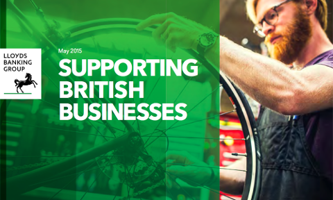 Lloyds supporting British businesses