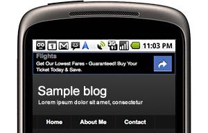 Afficher la pub Adsense dans la version mobile de votre Blog blogger