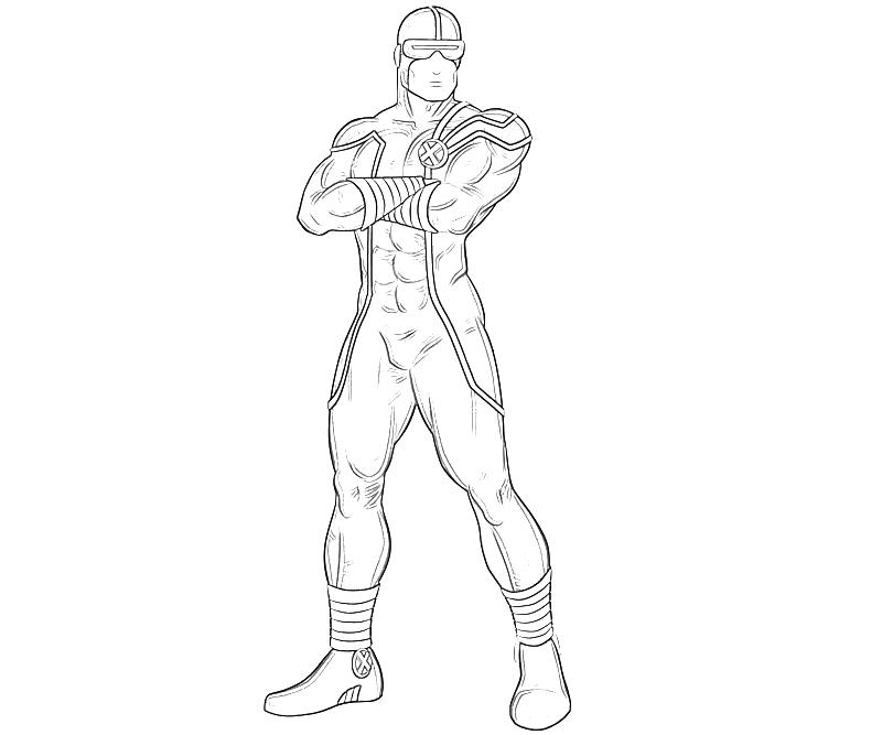 printable-marvel-ultimate-alliance-2-cyclops-look-coloring-pages