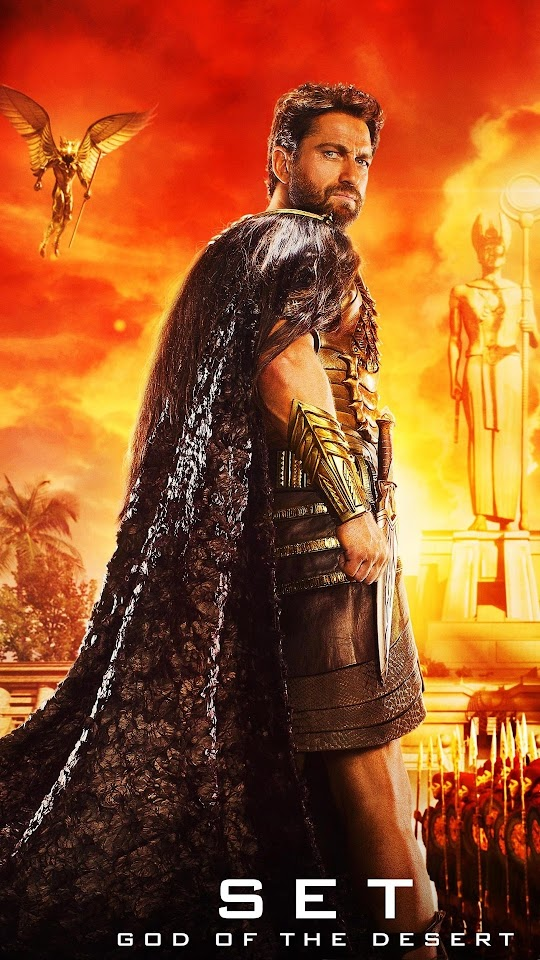 Set God Of The Desert Gods Of Egypt Galaxy Note HD Wallpaper