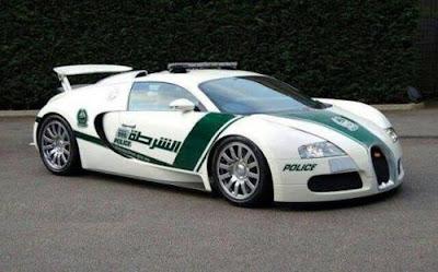 Bugatti Veyron Police Car | Dubai Police