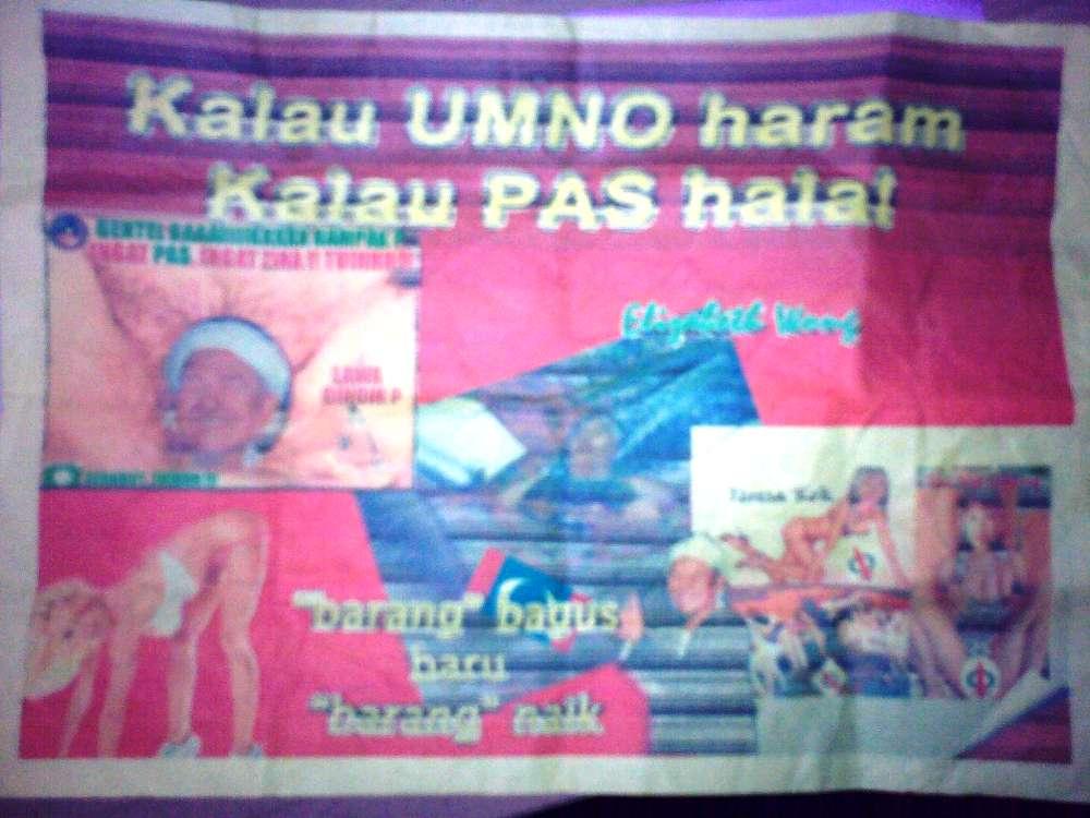 KELAB GREENBOC: Gambar Lucah, Kempen UMNO BN Bakal Makan Diri