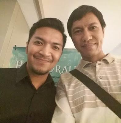 Foto bareng pemeran film Bait Surau