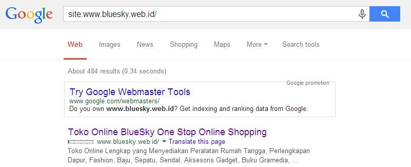 Cara Agar Toko Online Sobat Muncul Di Google