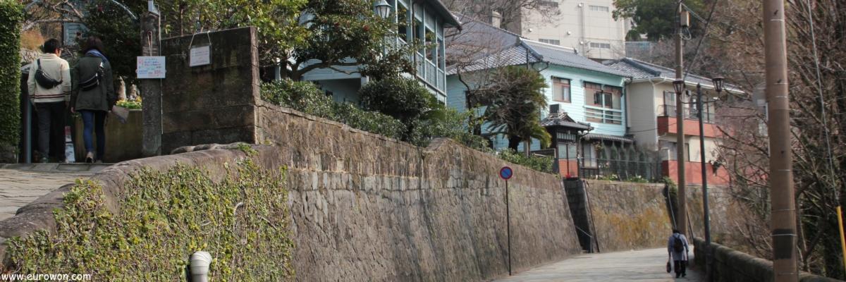 Dutch Slope cuesta de los holandeses en Nagasaki