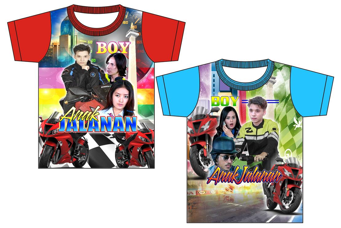 Boy Anak Jalanan Java Art Clothing Kaos Printing