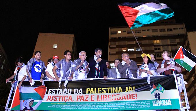 Ato histórico em São Paulo pelo Estado da Palestina Já - foto 7