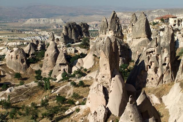 Casas-cuevas (Uçhisar - Capadocia)