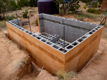 Dry Stack Concrete Block House