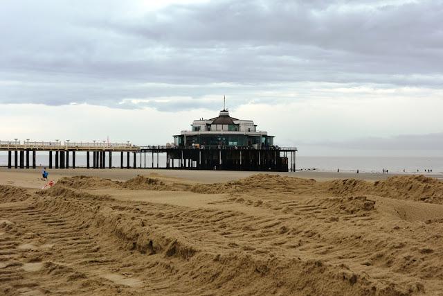 Blankenberge Pier Beach