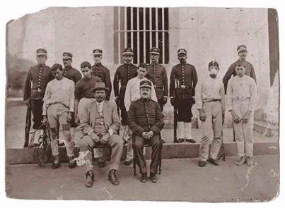 Pátio da Cadeia Publlica de Barbacena MG