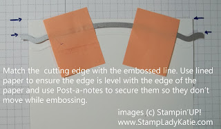 How to use Stampin'UP!'s Edgelit Dies - shown by StampLadyKatie