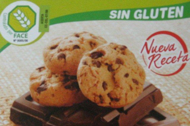 Galletas sin gluten con marca de garantia sin gluten FACE