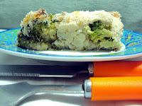 Kalafior i brokuły zapiekane pod beszamelem