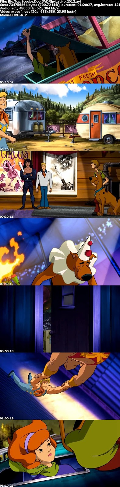 Big Top Scooby-Doo! [2012] [DVDRip] [Latino]