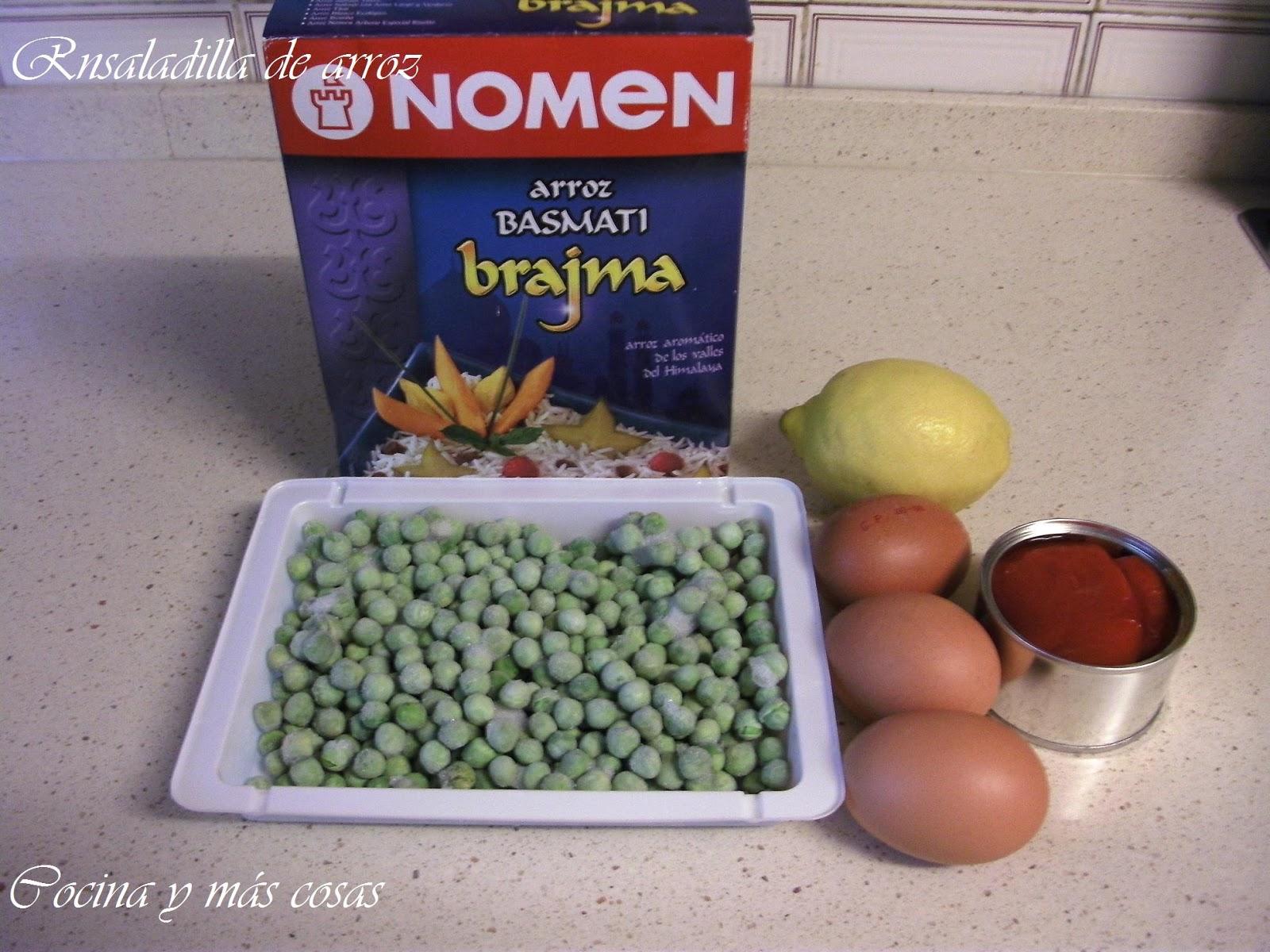 Cocina y m s cosas ensalada de arroz - Cosas de cocina ...