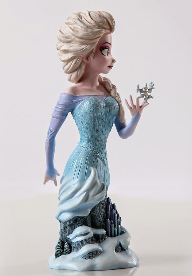 Elsa Frozen Bust