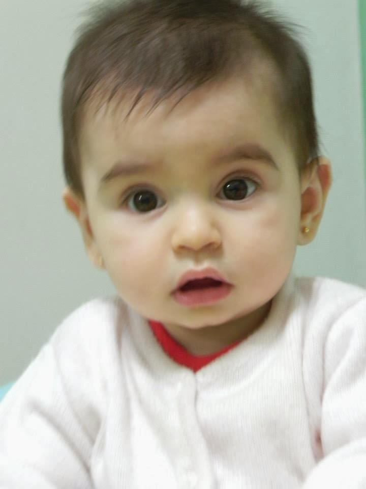Amparo, mi segunda nieta