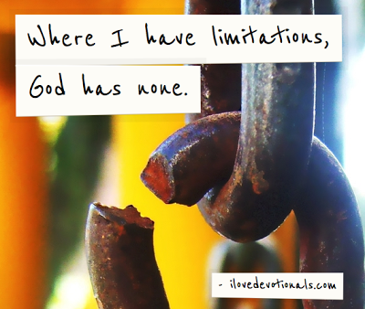 God has no limitations