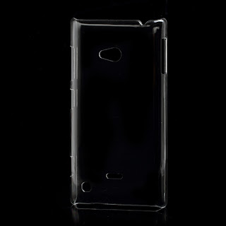Transparent Clear Crystal Case for Nokia Lumia 720